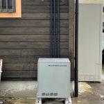 滋賀県 蓄電池設置工事(京都 滋賀 電気工事 太陽光 蓄電池 エコキュート オール電化 Ⅴ2H ルミタス)